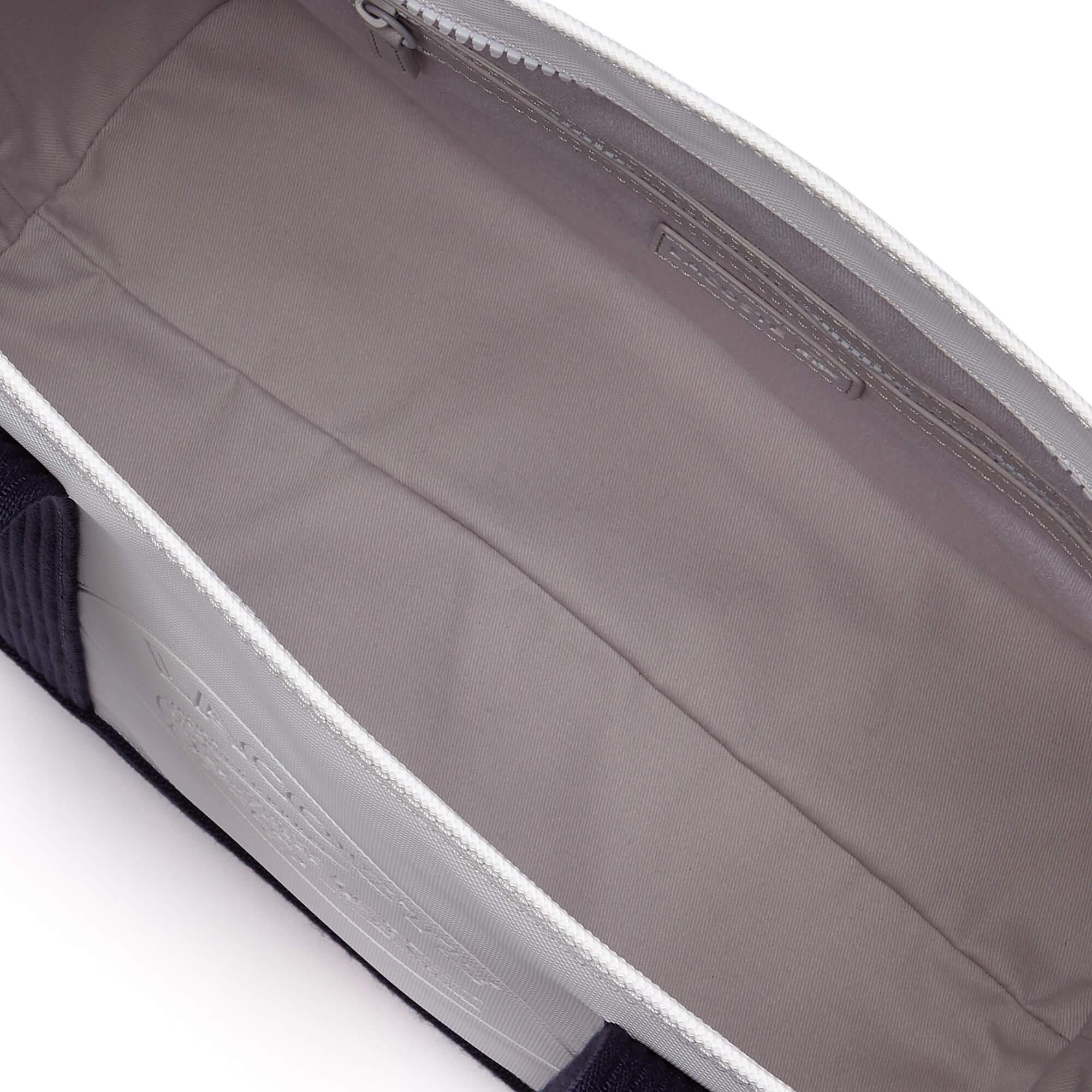 Lacoste Women's Classic Coated Piqué Canvas Zip Tote Bag