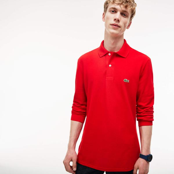 Lacoste Long-Sleeve Lacoste Classic Fit L.12.12 Polo Shirt