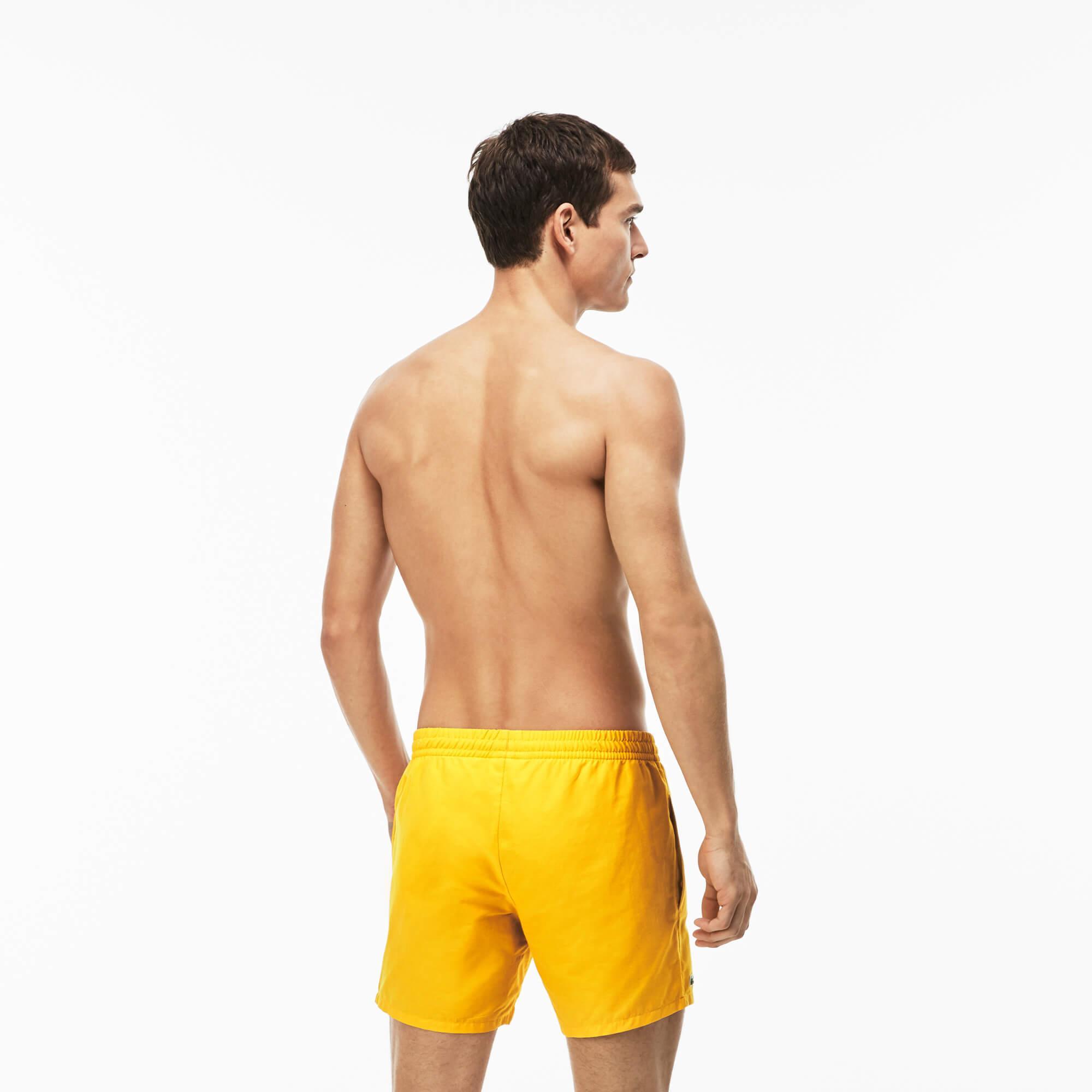 Lacoste Men's Swimming Trunks İn Taffeta