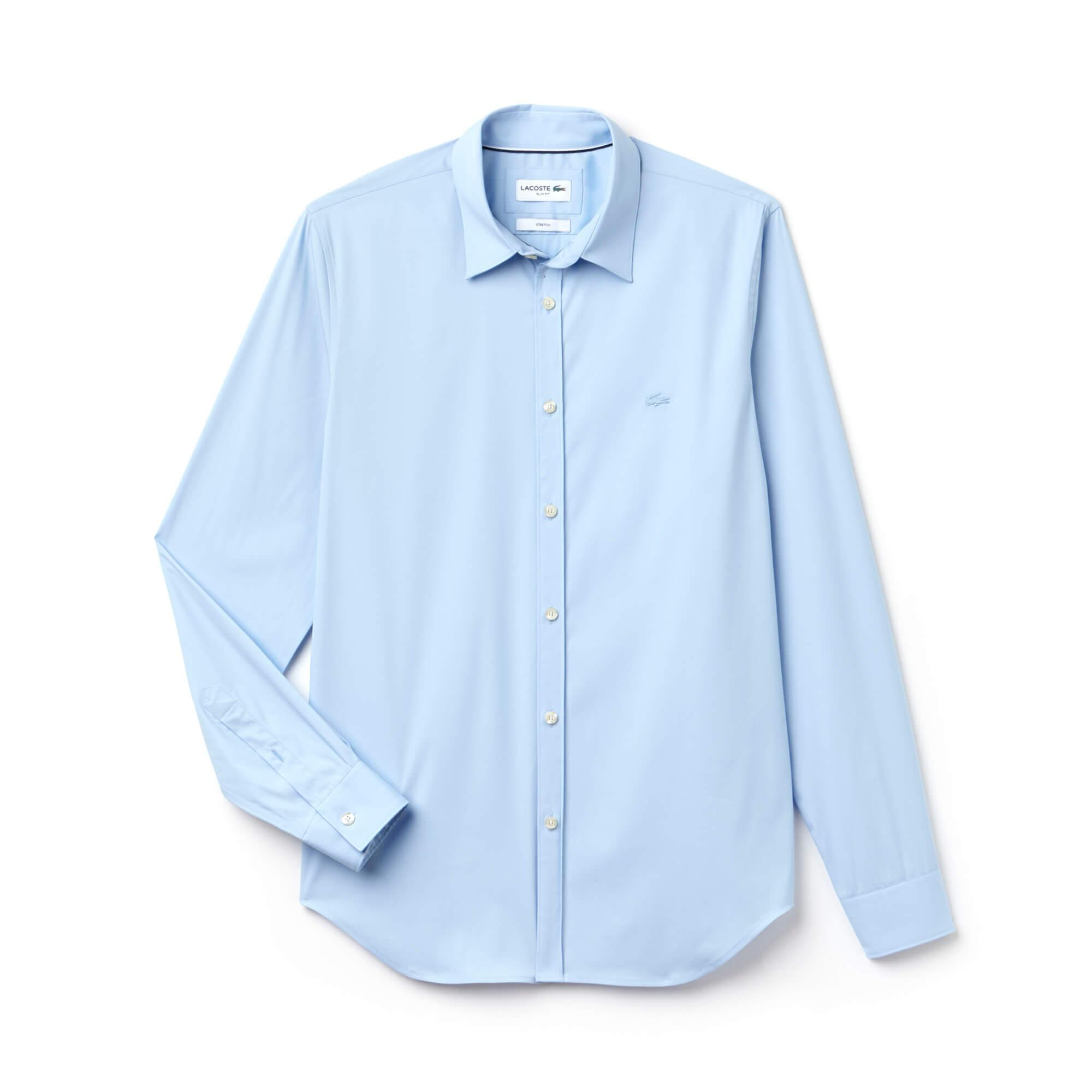 Lacoste Men's Long Sleeve Wovens Shirts
