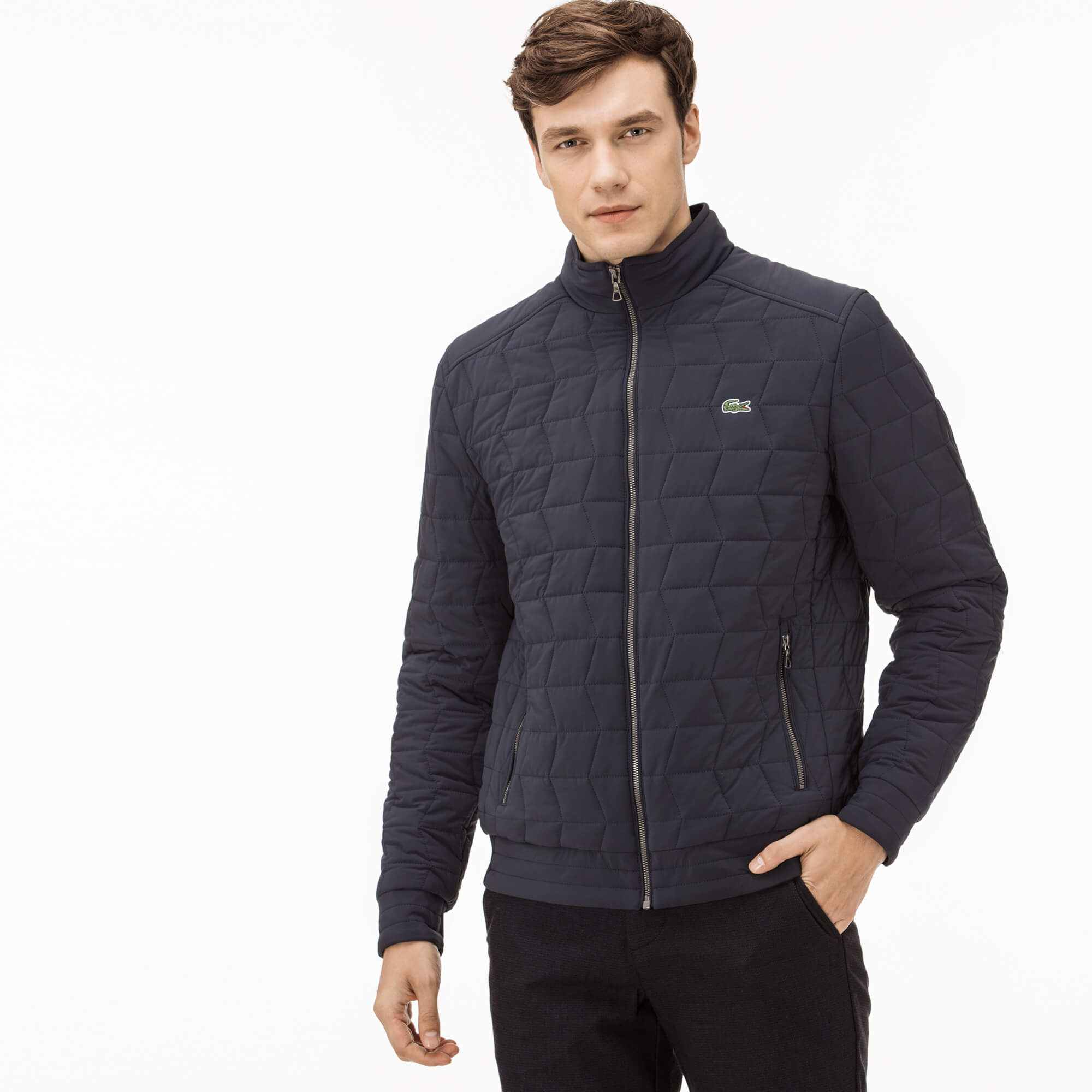 Lacoste Men's Quilted Coat