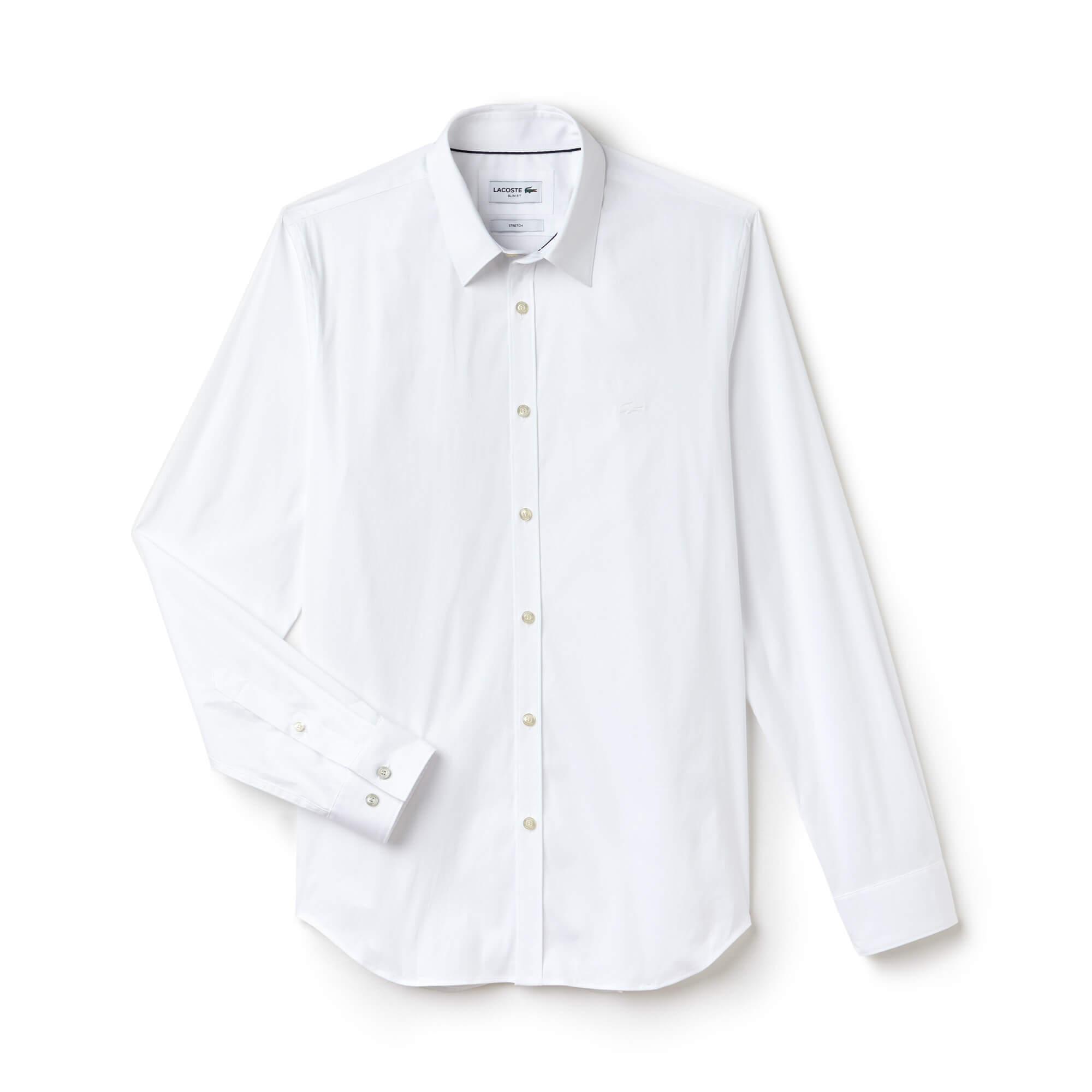 Lacoste Men's Long Sleeve Wovens Shirts