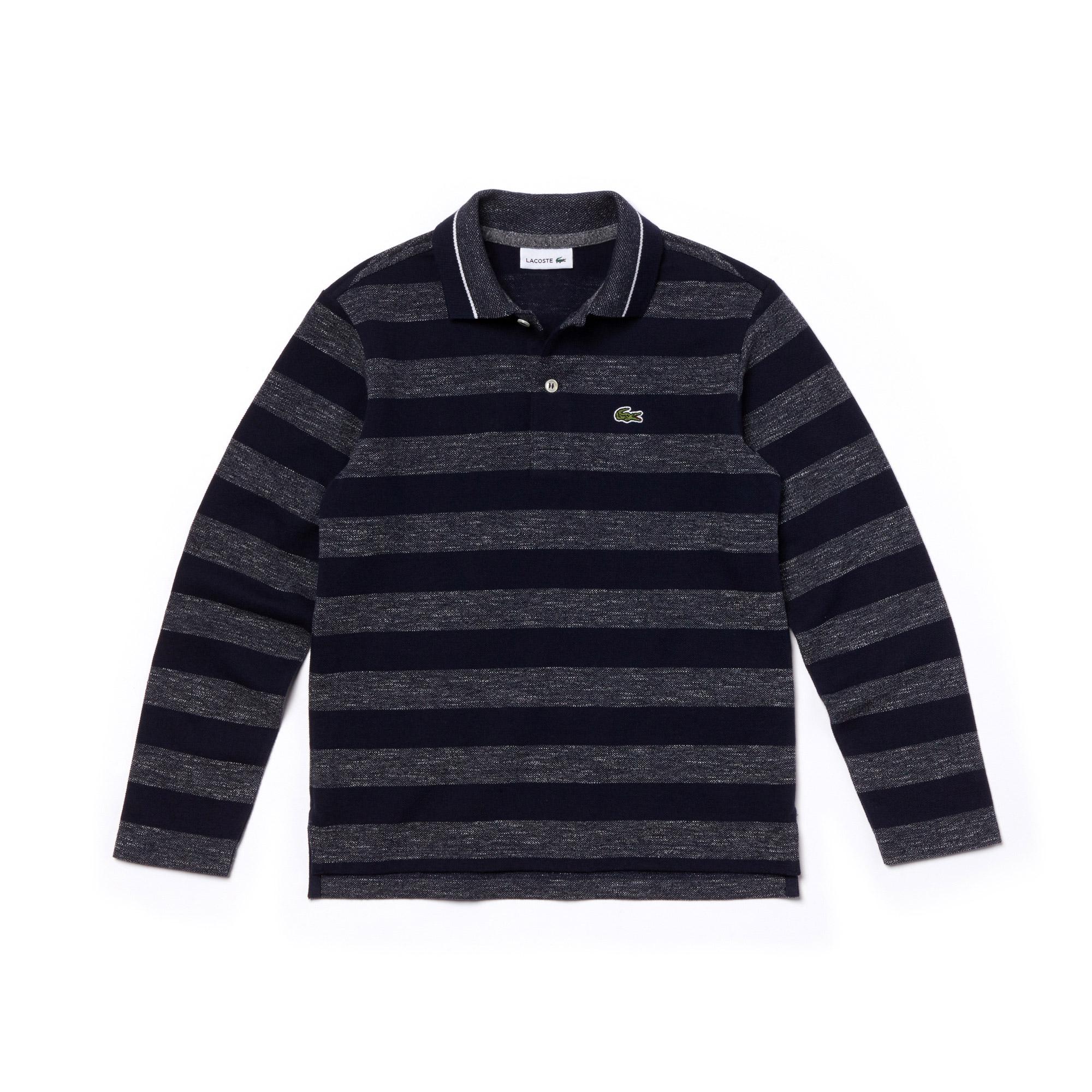 Lacoste Kids' Long Sleeve Polo