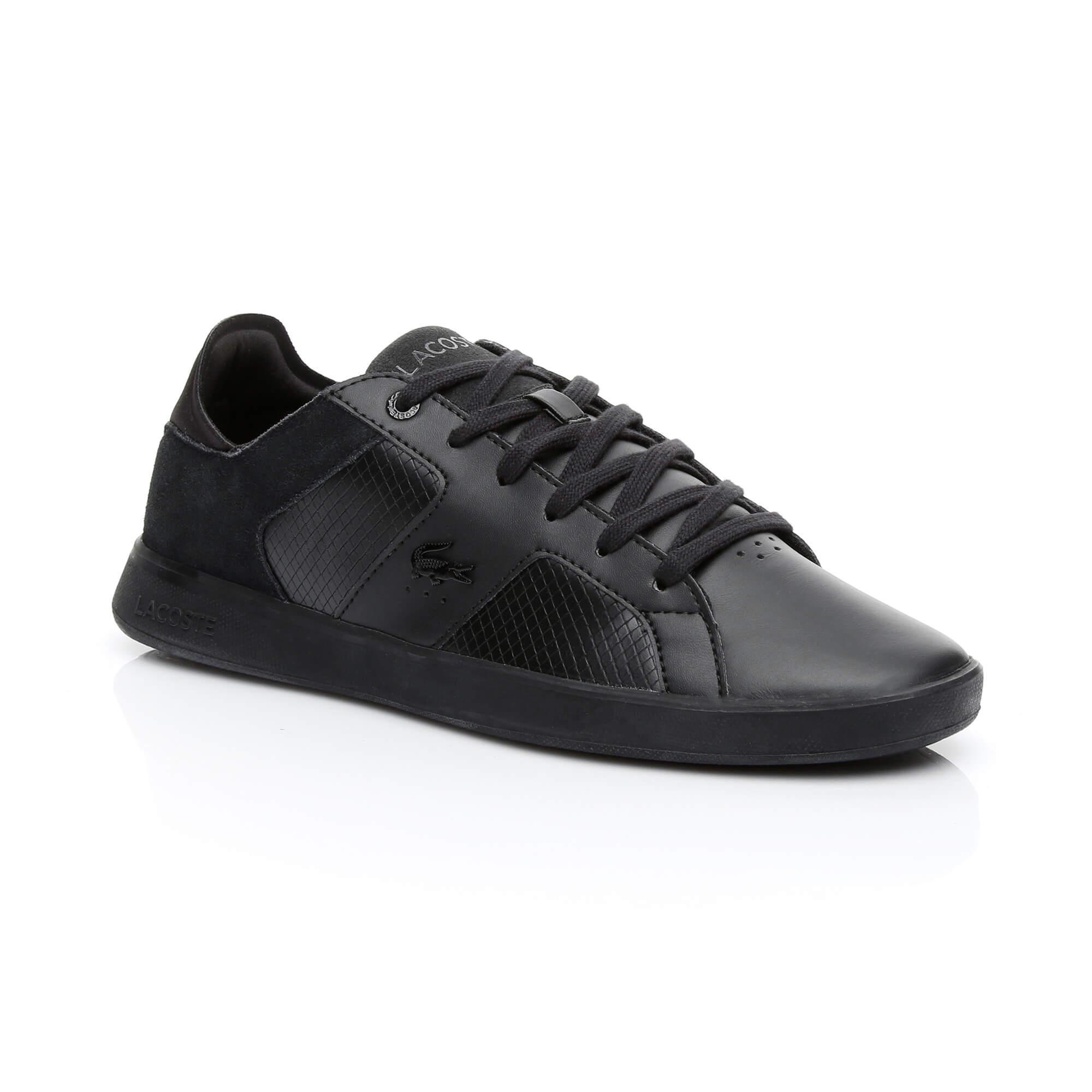 Lacoste Men's Novas Leather Trainers