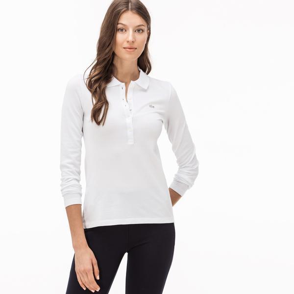 Lacoste Women's Long Sleeve Polo