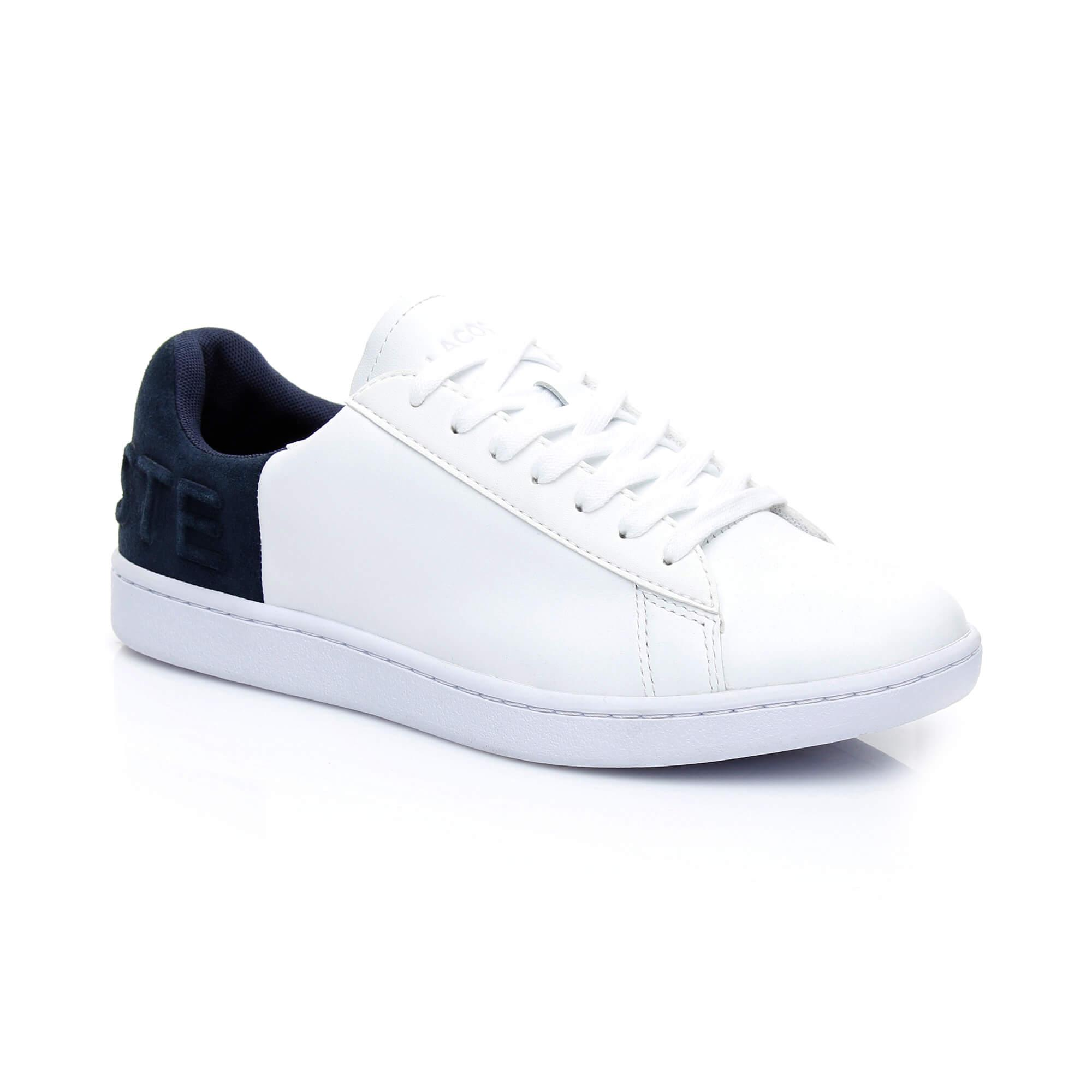 9ab36aa6 Lacoste Women's Carnaby Evo 318 3 Leather Sneaker 736SPW0011 042 ...