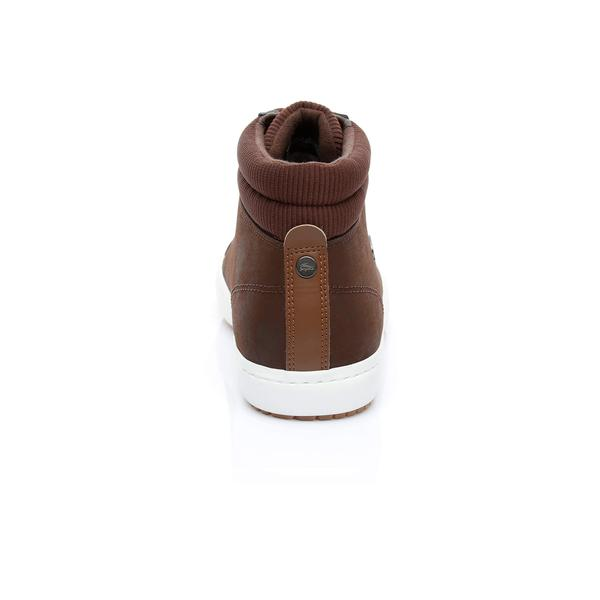 Lacoste Men's Straightset Leather Sneakers
