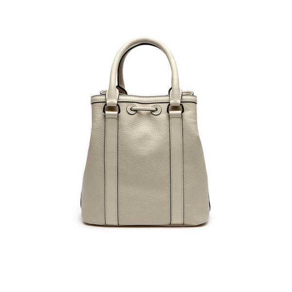 Lacoste Women's Leather Cream Bag