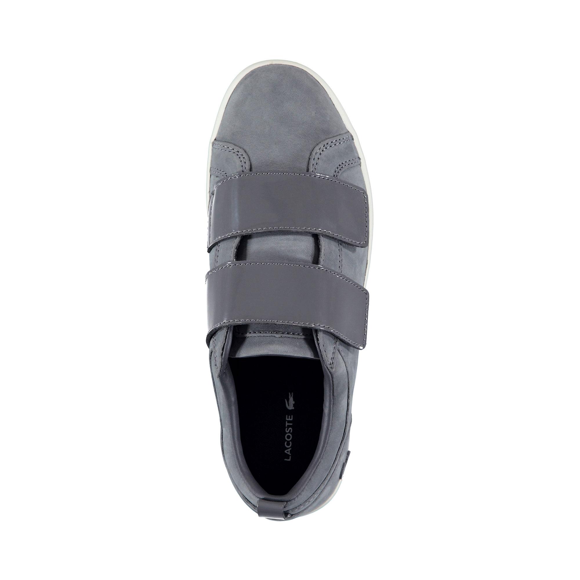 f7f4427460149 Lacoste Women's Straightset Strap 318 1 Bordeaux Sneaker 736CAW0046 ...