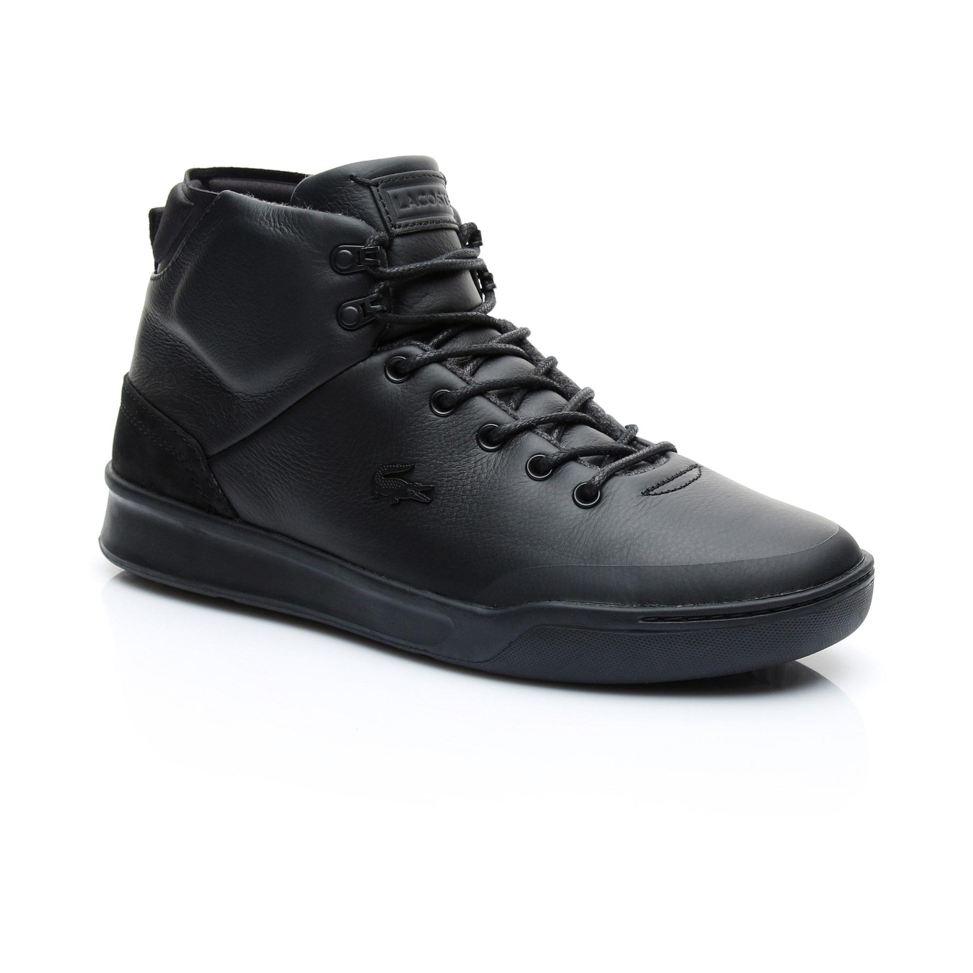 Lacoste Explorateur Classic Boots Winterstiefel Herren Schwarz 40CMA0001 02H