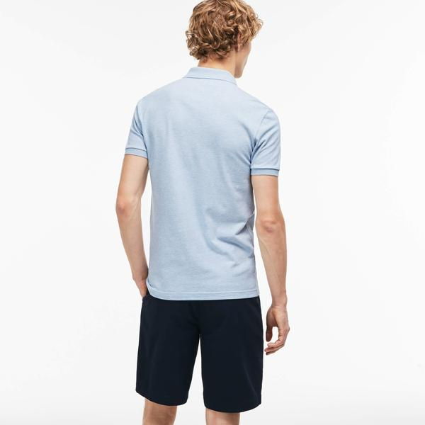 Lacoste Men's Slim Fit Lacoste Polo Shirts İn Stretch Petit Piqué