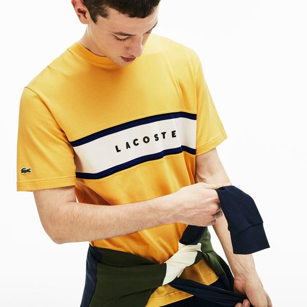 Lacoste Men's Crew Neck T-Shirts