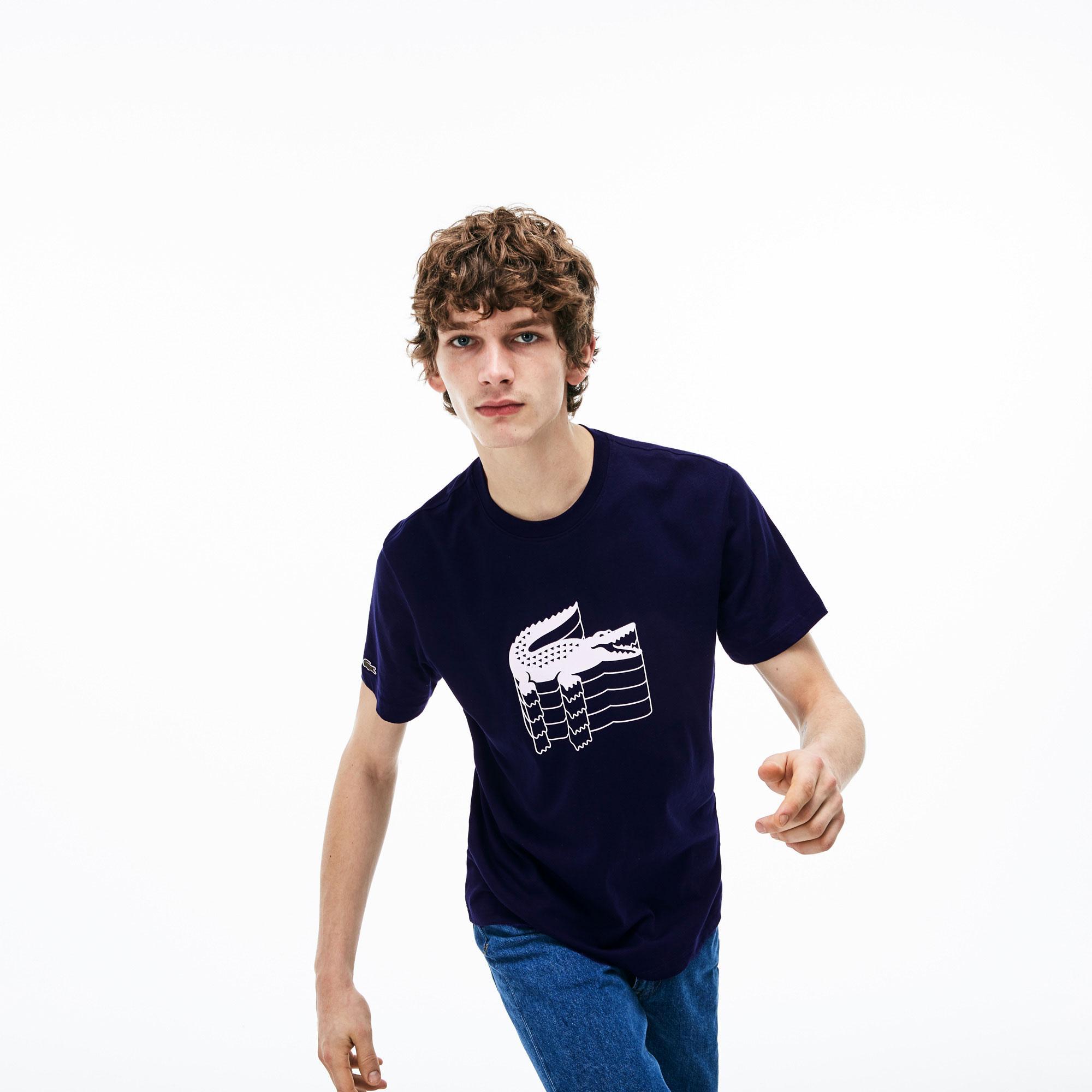 Lacoste Men's Crew Neck Cotton Piqué T-Shirts