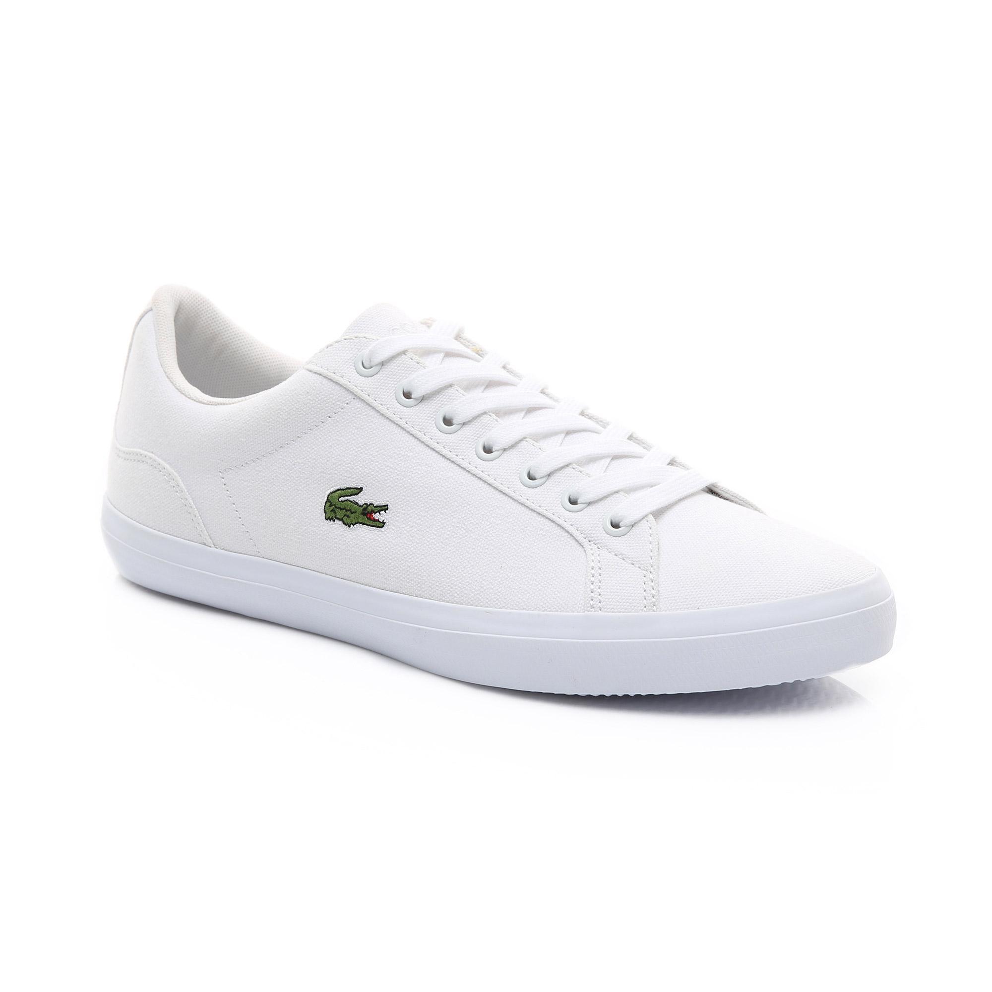 12c2c9533a7dfb Lacoste Men's Lerond Canvas Sneakers 733CAM1033 001 | lacoste.pl ...