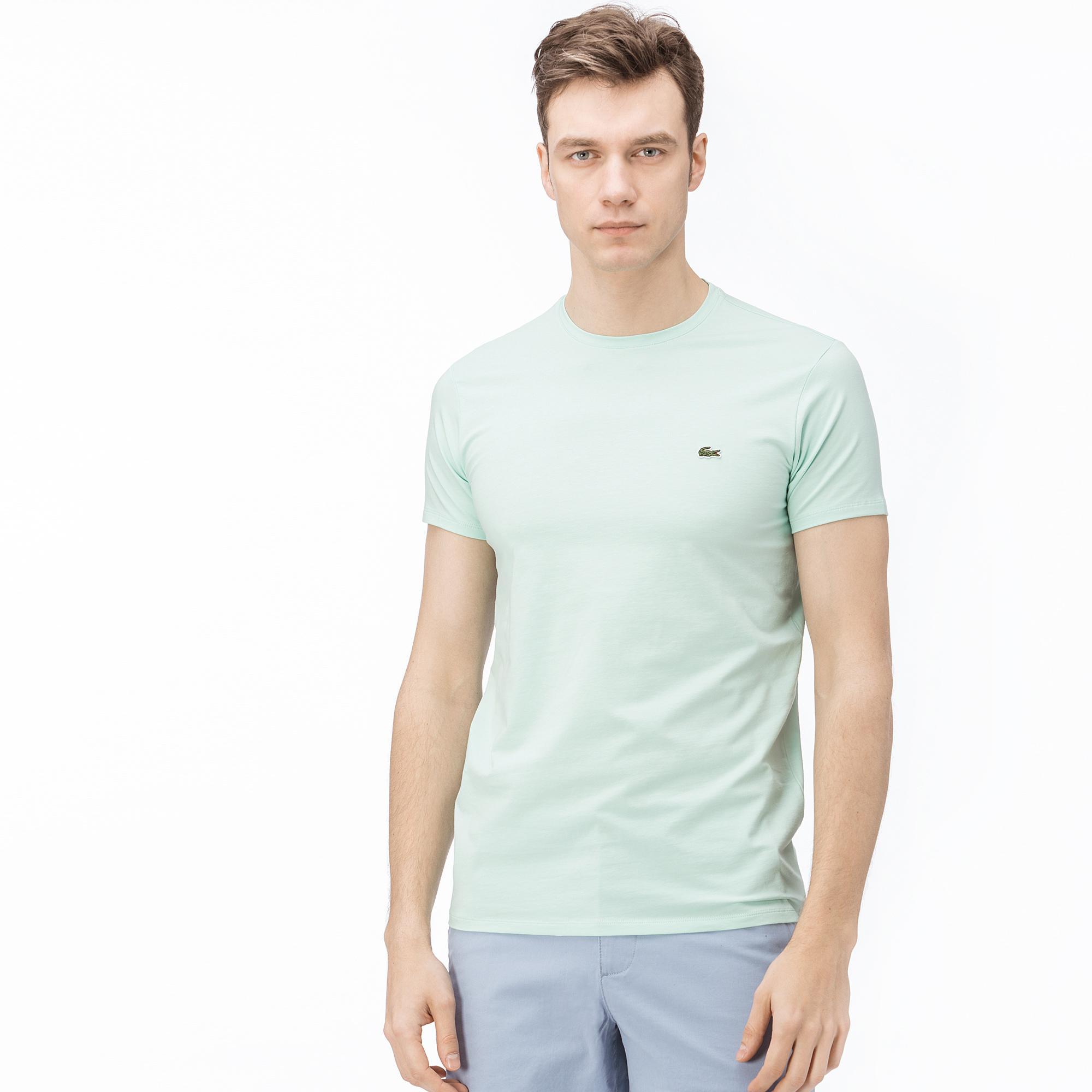 Lacoste T-Shirt Męski Z Okrągłym Wycięciem Pod Szyją