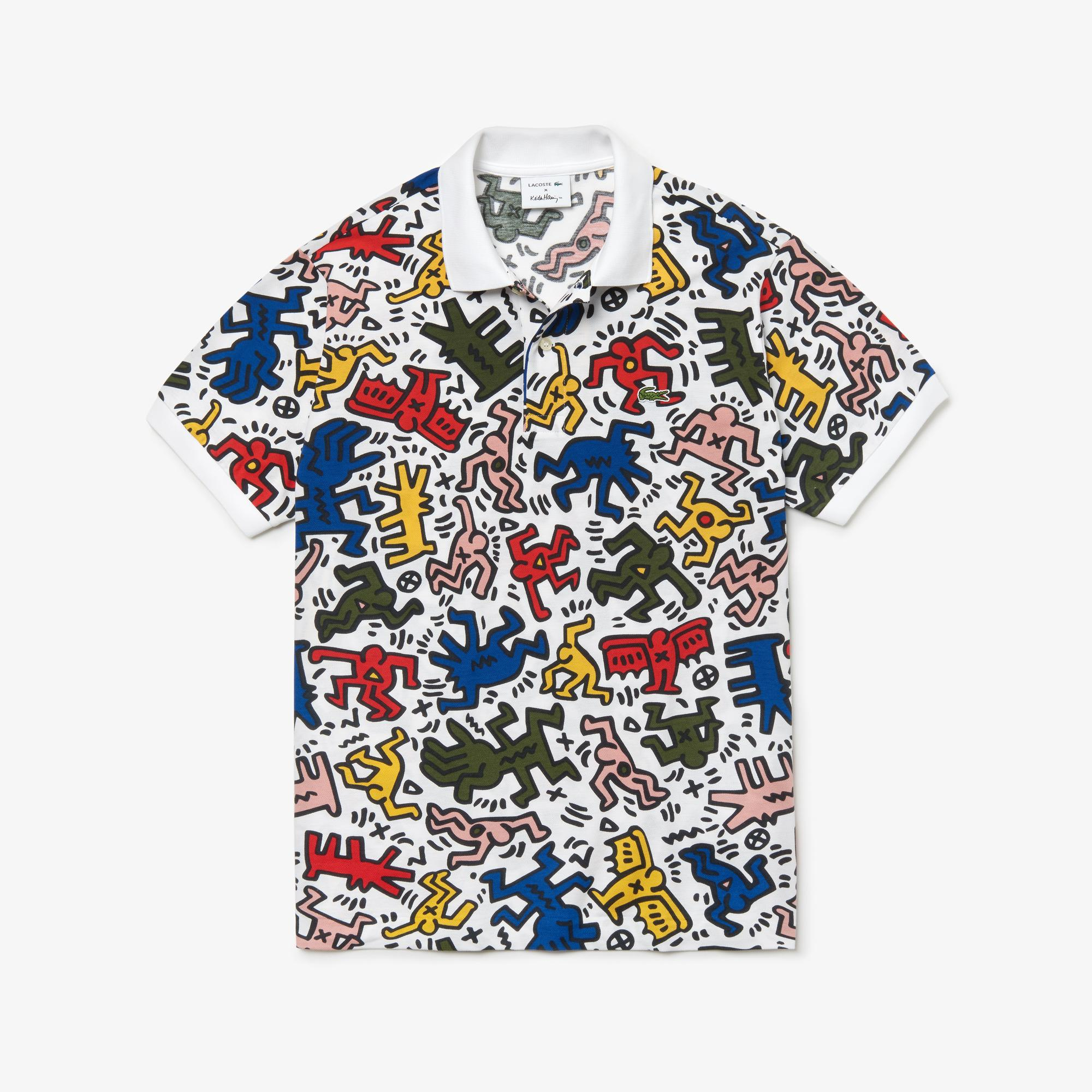 Lacoste X Keith Haring Men's Short Sleeve Polo