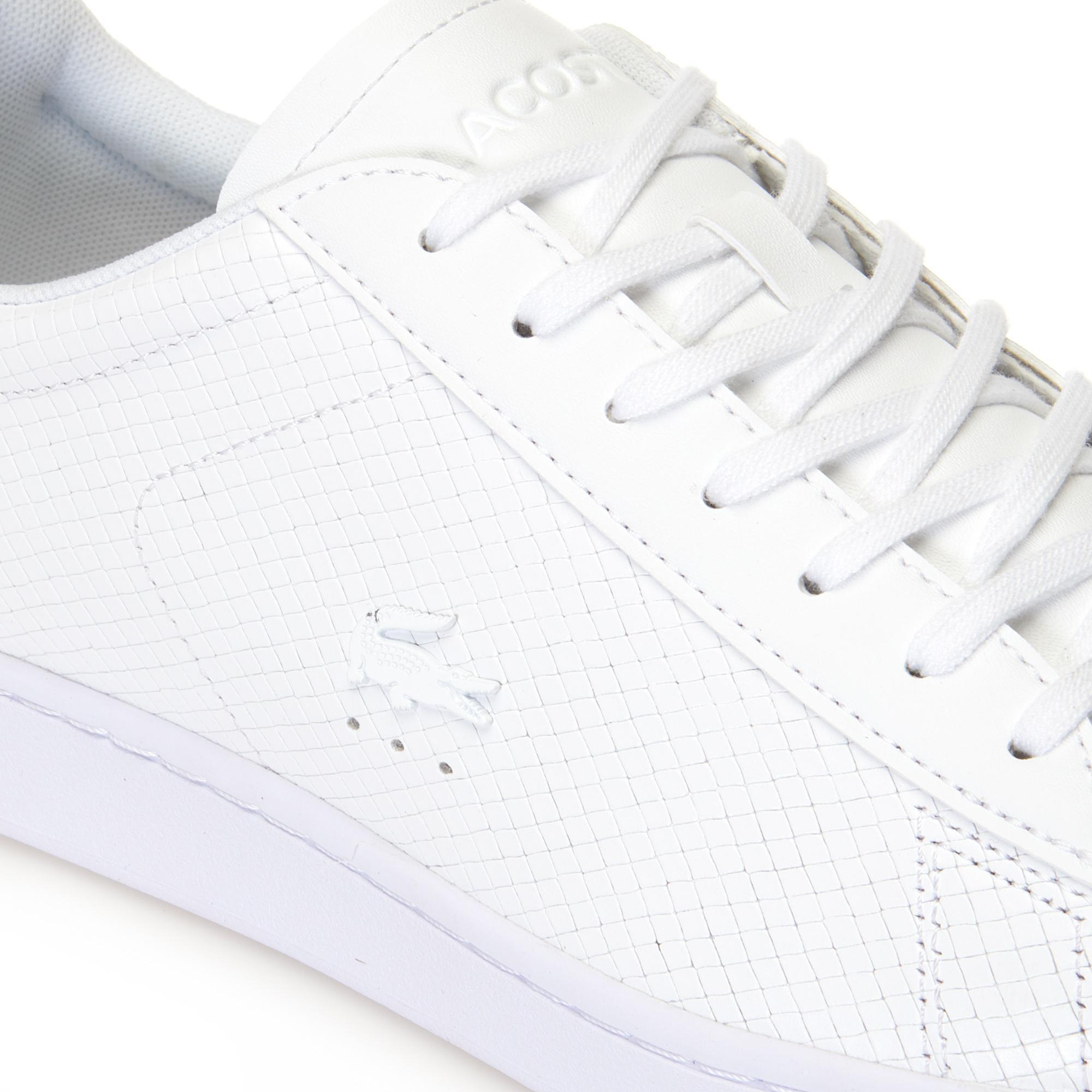Lacoste Carnaby Evo 318 7 Męskie Skórzane Sneakersy