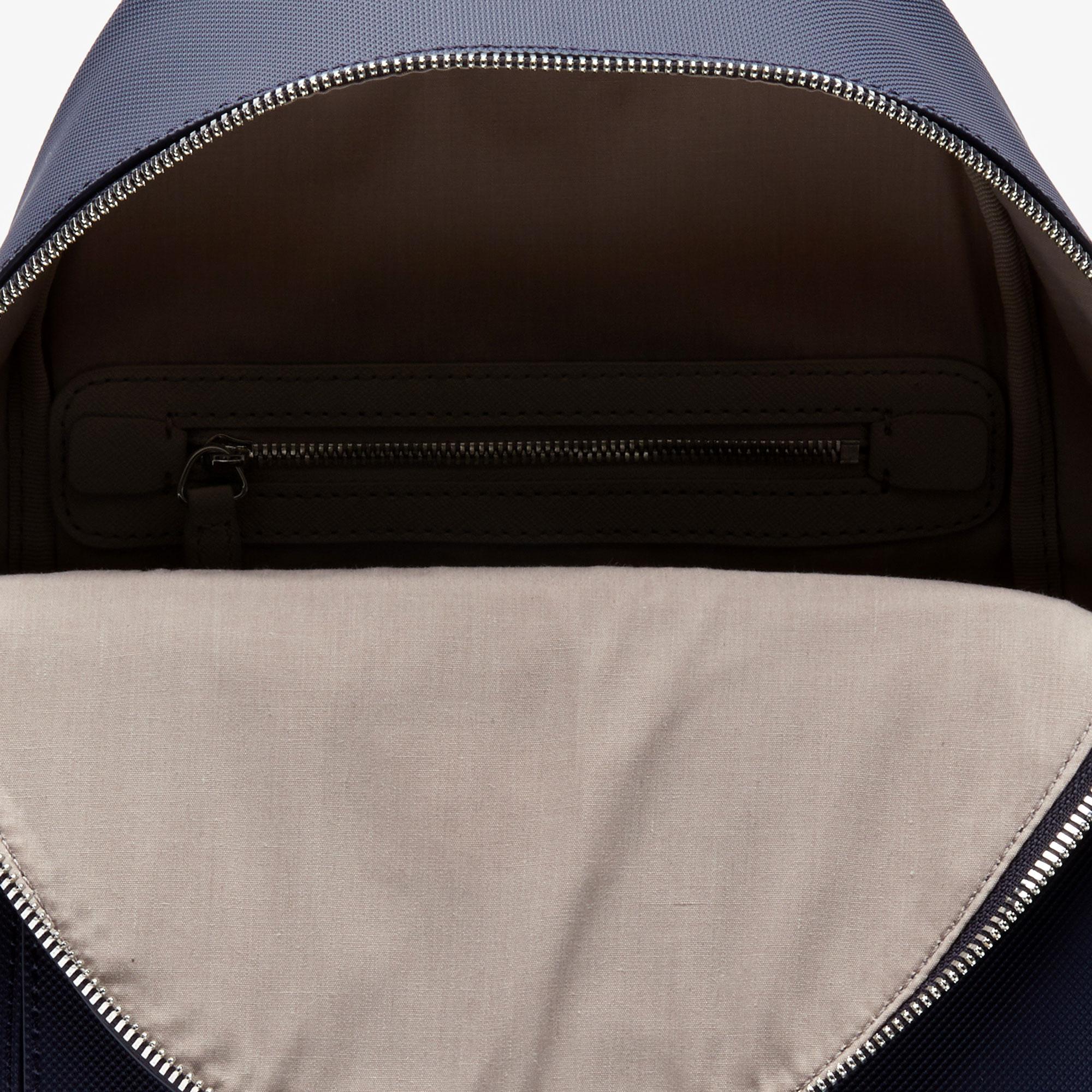 Lacoste Damski plecak miejski o klasycznym kroju obszyta płótnem typu pika