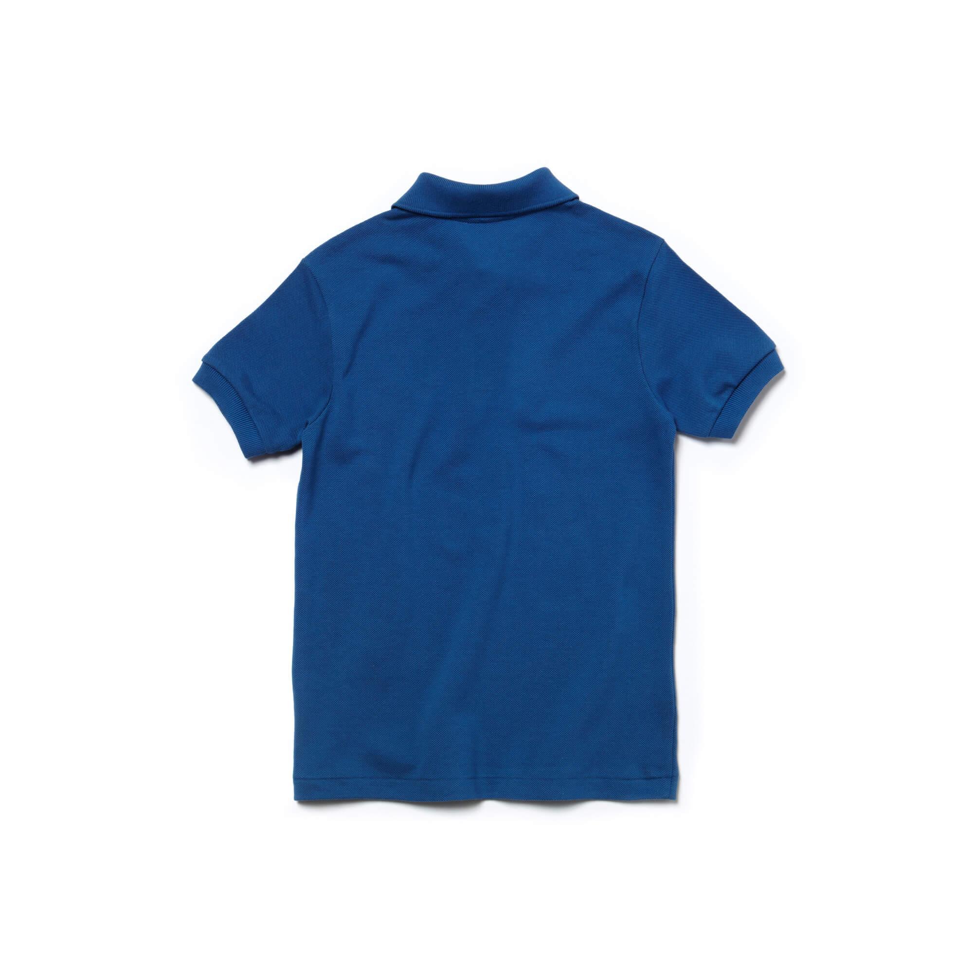 Lacoste Dziecięca Koszulka Polo Z Drobnej Piki