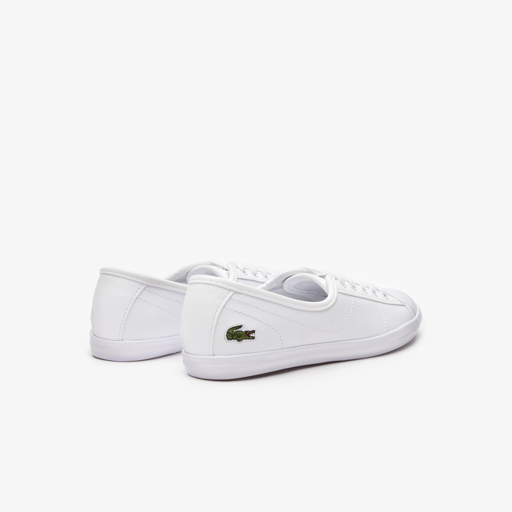 Lacoste Damskie skórzane sneakersy Ziane