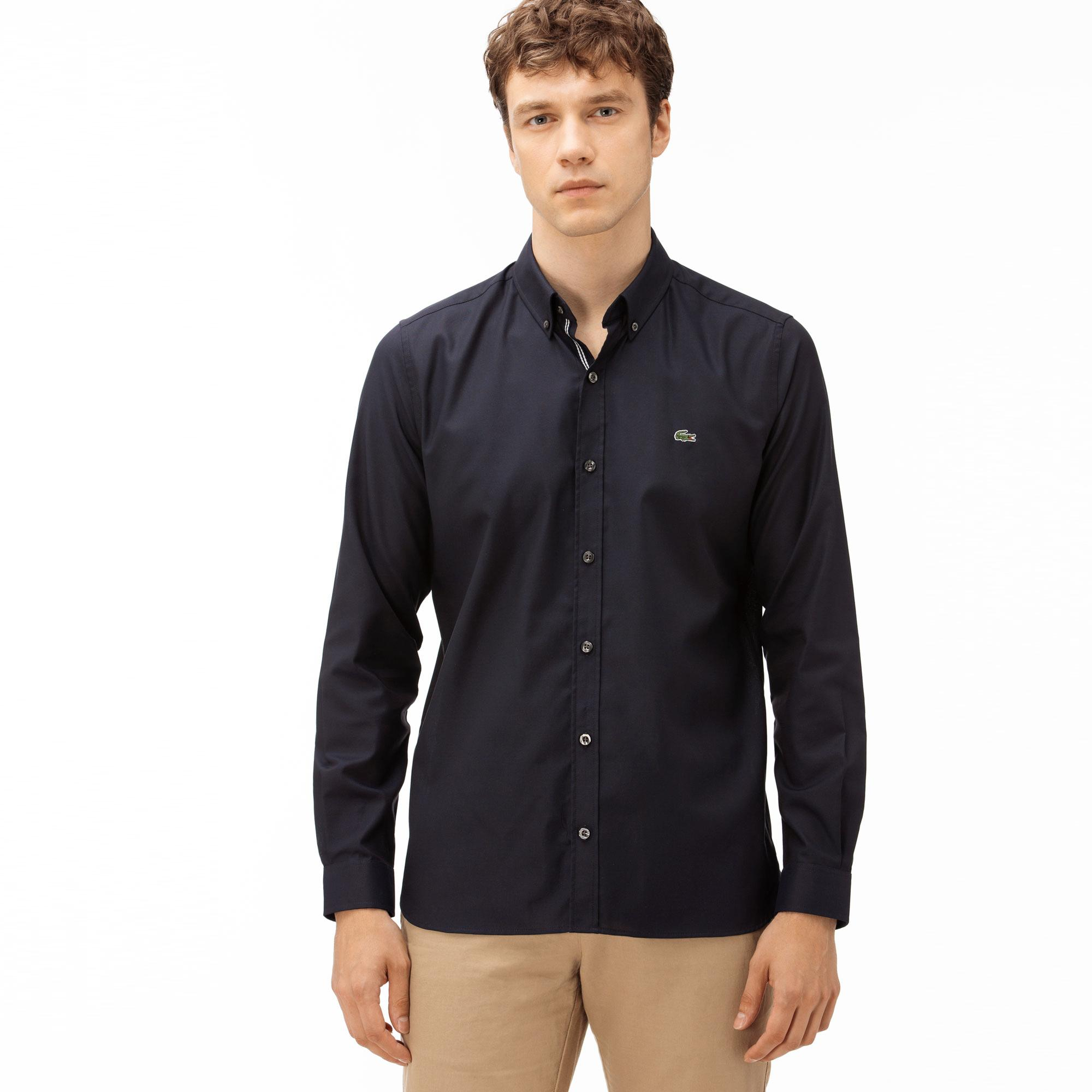 Lacoste Men's Slim Fit Oxford Shirt