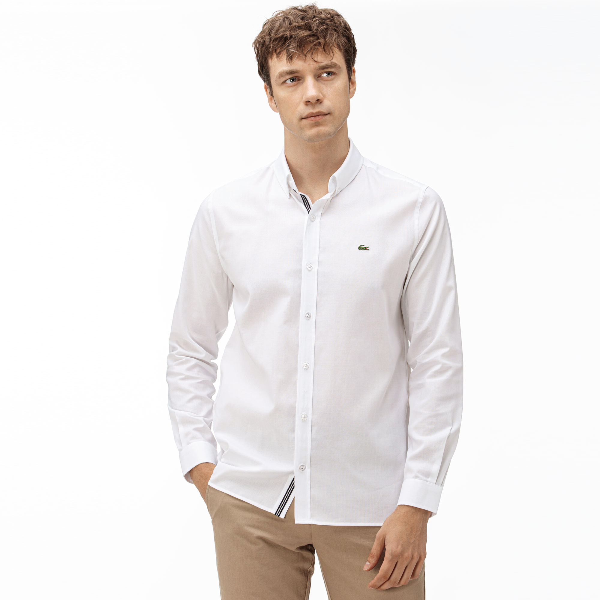 Lacoste Men's Slim Fit Oxford Shirt