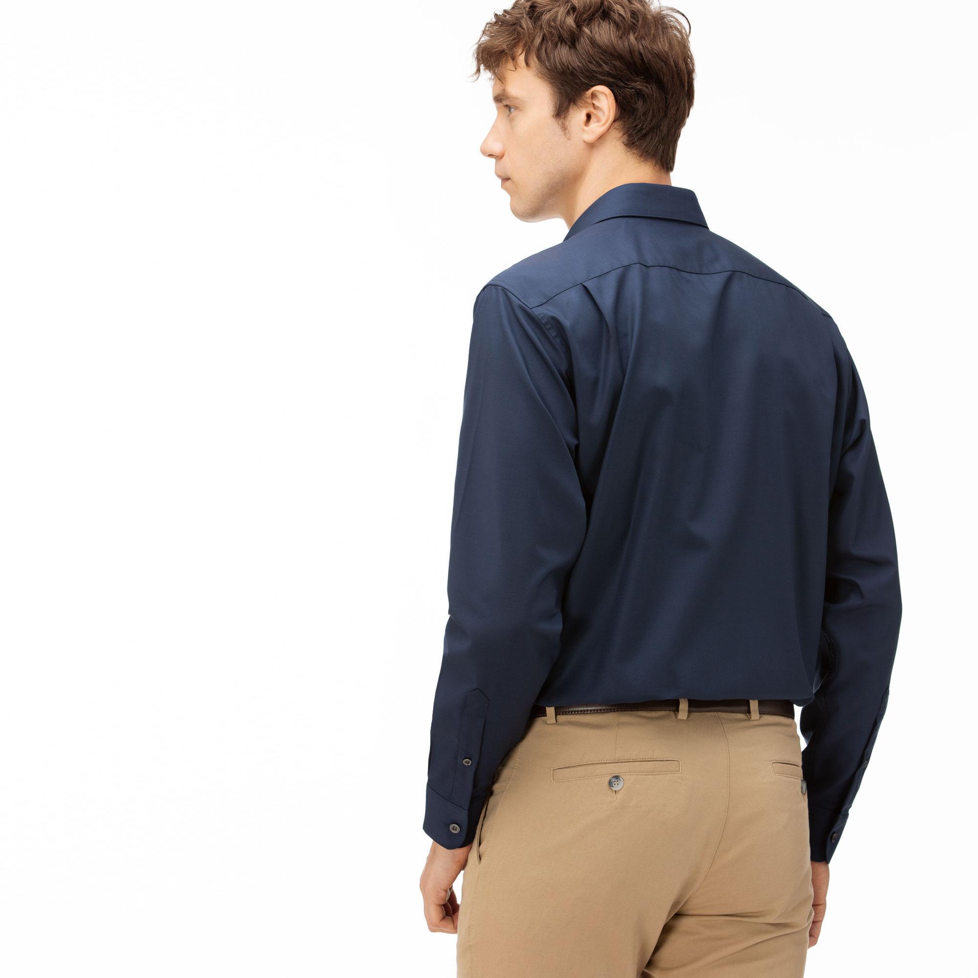 Lacoste Men's Regular Fit Cotton Mini Piqué Shirts