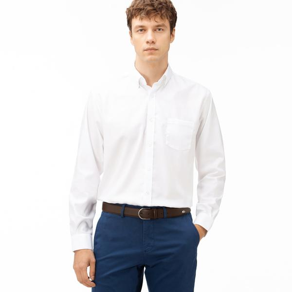 Lacoste Men's Regular Fit Long Sleeve Shirt