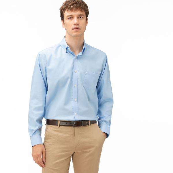 Lacoste Men's Regular Fit Cotton Mini Piqué Shirts