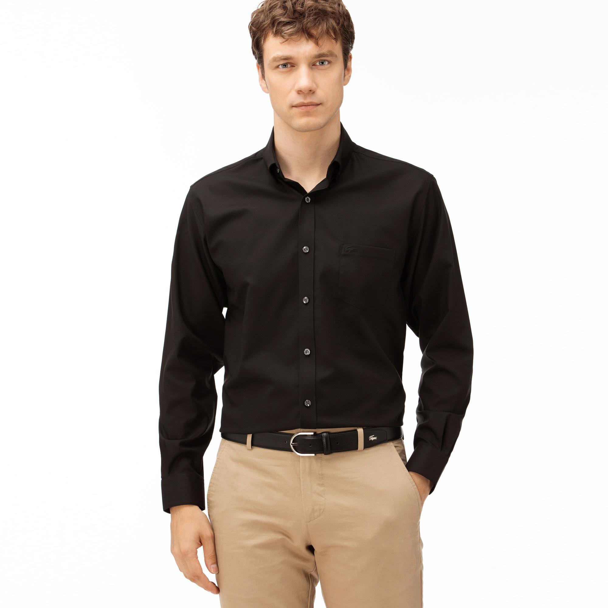 Lacoste Men's Regular Fit Long Sleeve Shirt