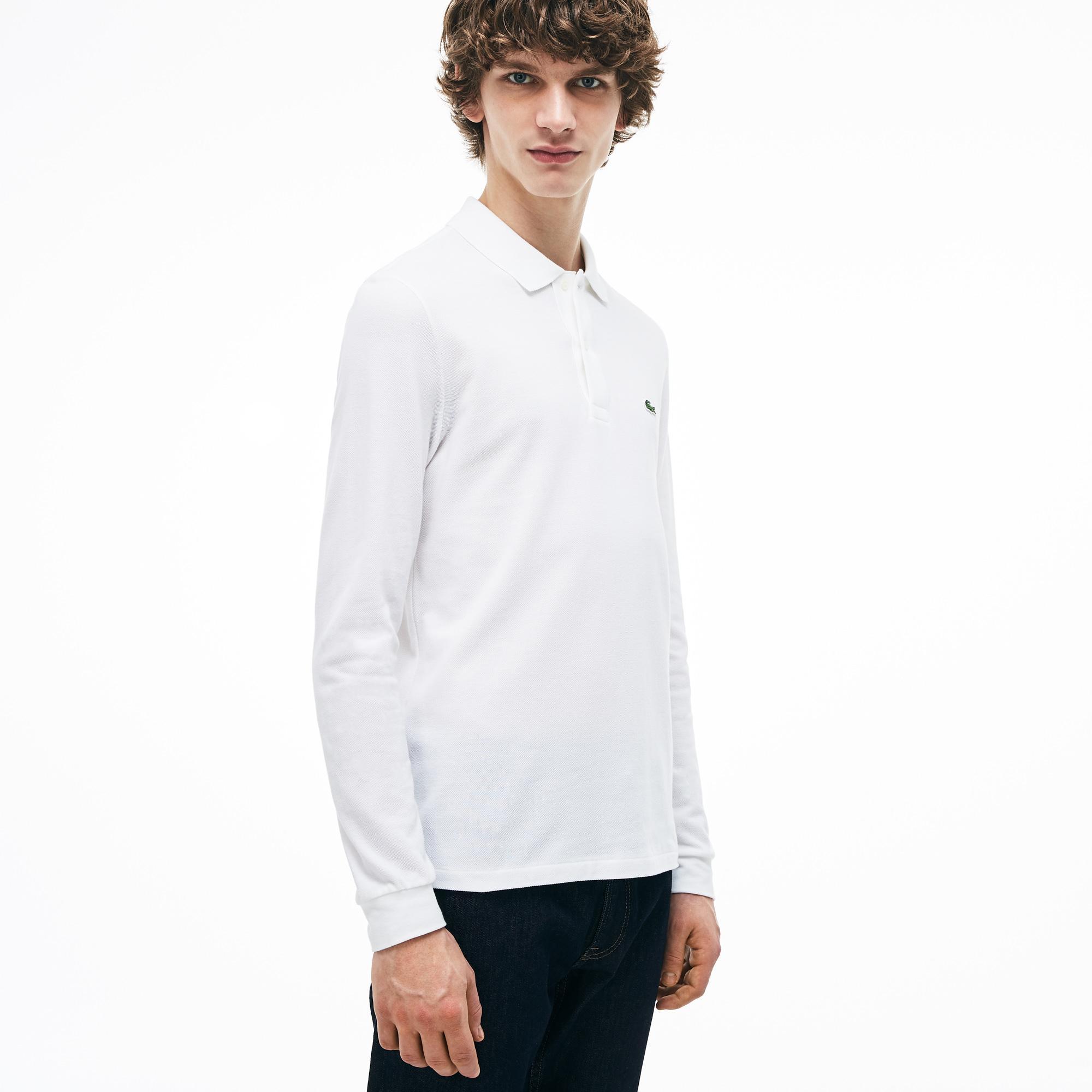 Lacoste Men's Long-Sleeve Classic Fit L.13.12 Polo