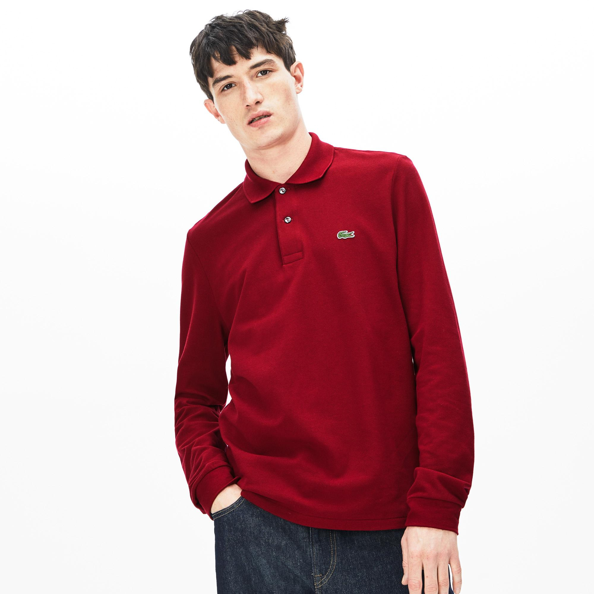 Lacoste Men's Long-Sleeve Classic Fit L.13.12 Polo