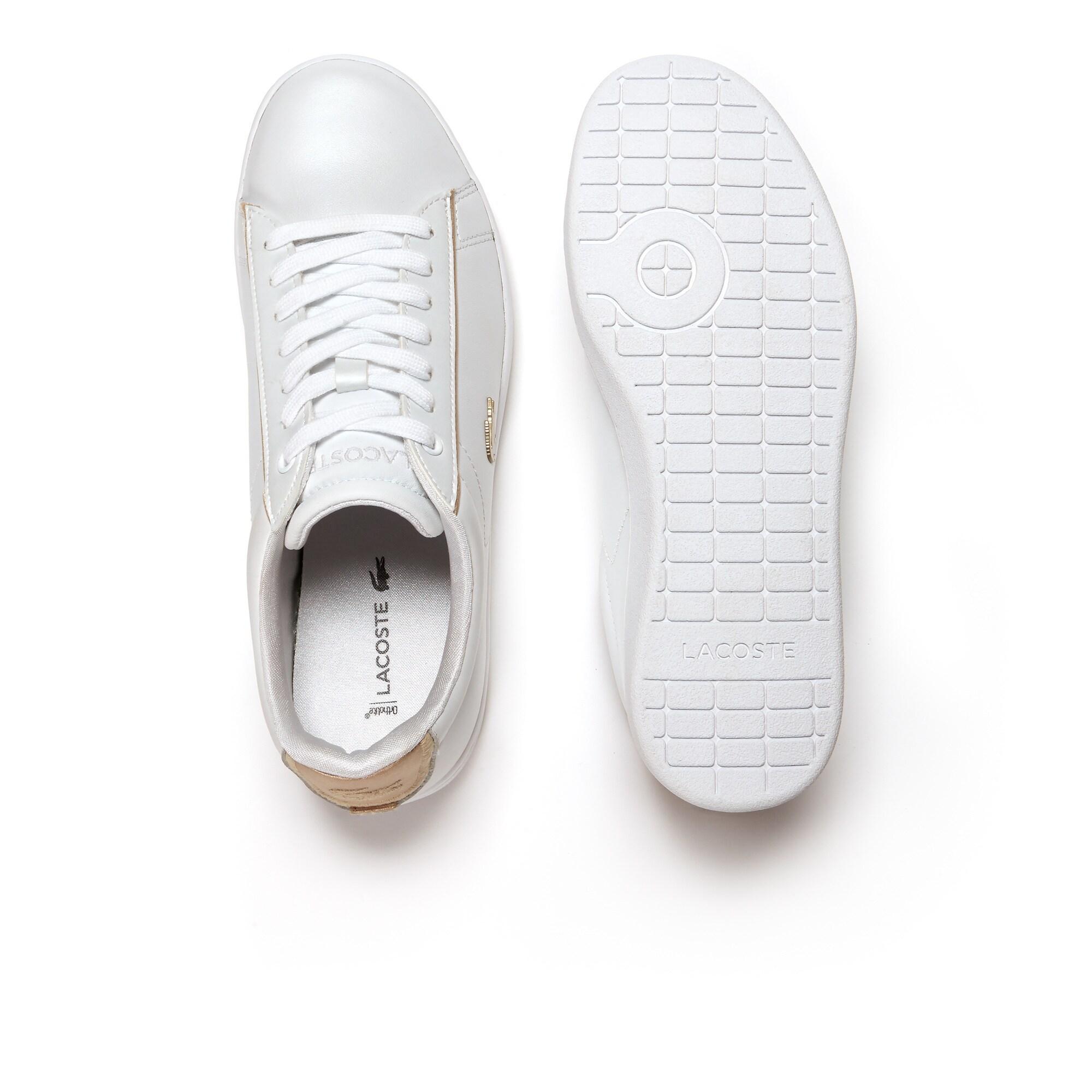 Lacoste Carnaby Evo 118 6 Damskie Skórzane Sneakersy