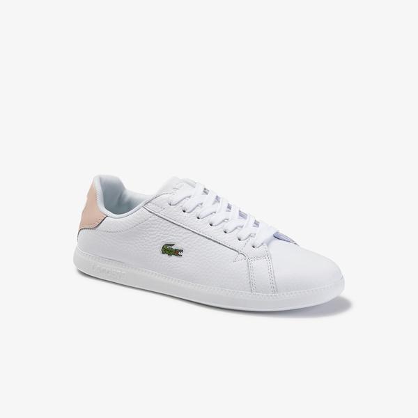 Lacoste Graduate 120 1 Cfa Sneakers Damskie Skórzane
