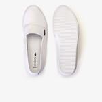 Lacoste Damskie płócienne buty slip-on Marice