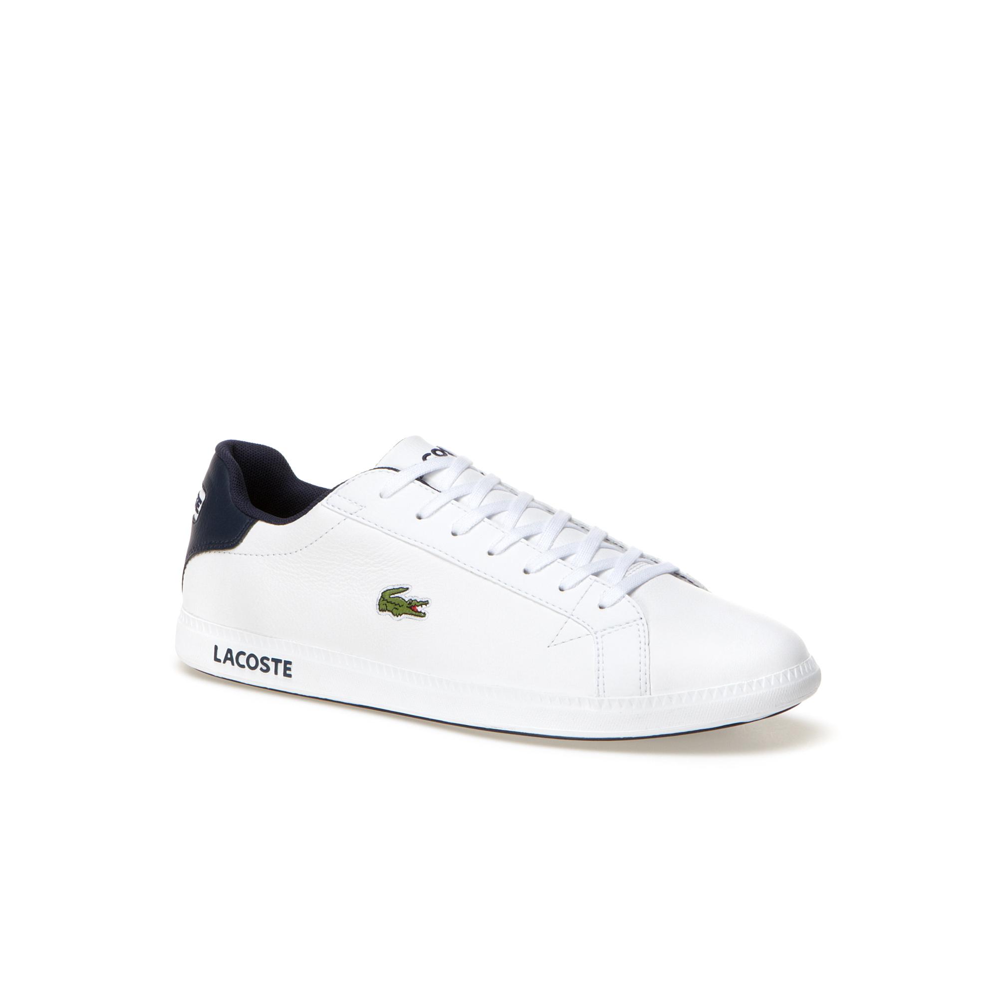 Lacoste GRADUATE LCR3 Męskie Premium Skórzane Sneakersy