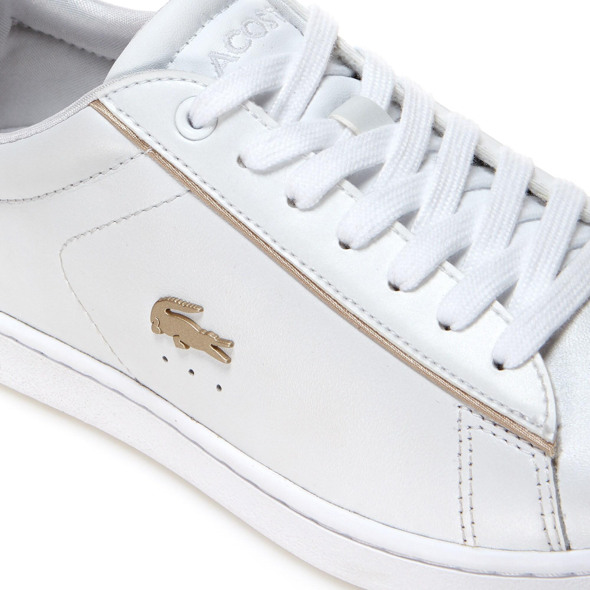 Lacoste Damskie skórzane sneakersy Carnaby Evo 118 6 Spw
