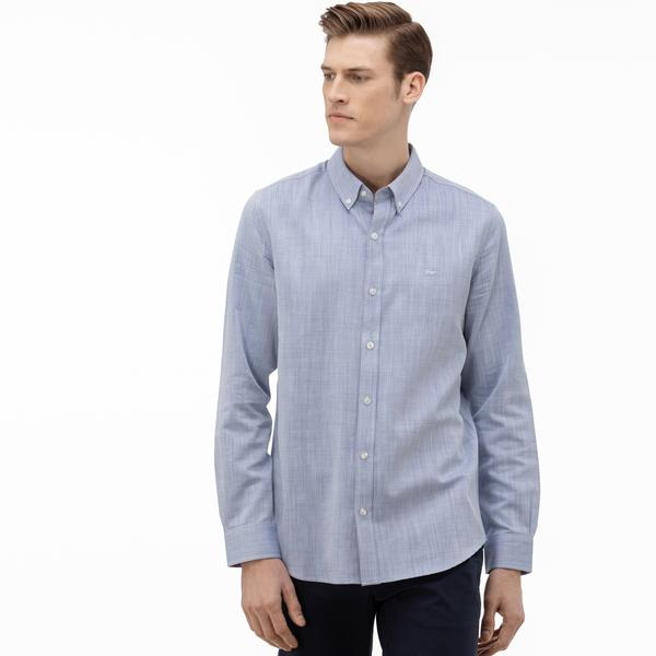 Lacoste Men's Slim Fit Buttoned-Up Collar Shirt