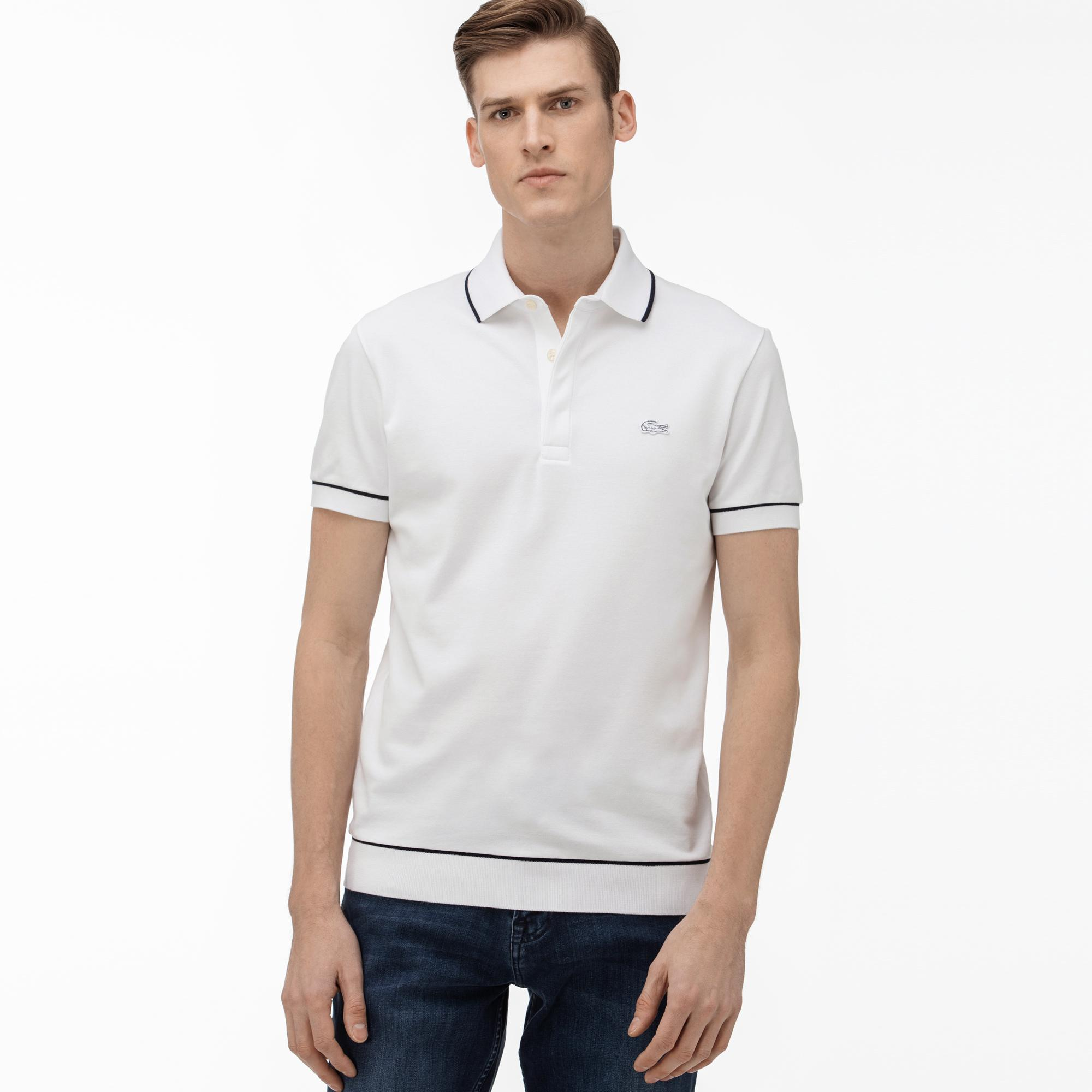 Lacoste Męska Koszulka Polo Regular Fit Czarna