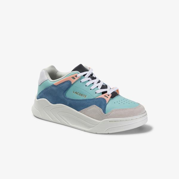 Lacoste Court Slam 120 4 Us Sfa Sneakers Damskie Skórzane