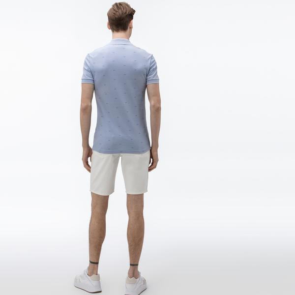 Lacoste Men's Regular Fit Five-Pocket Jean Bermudas