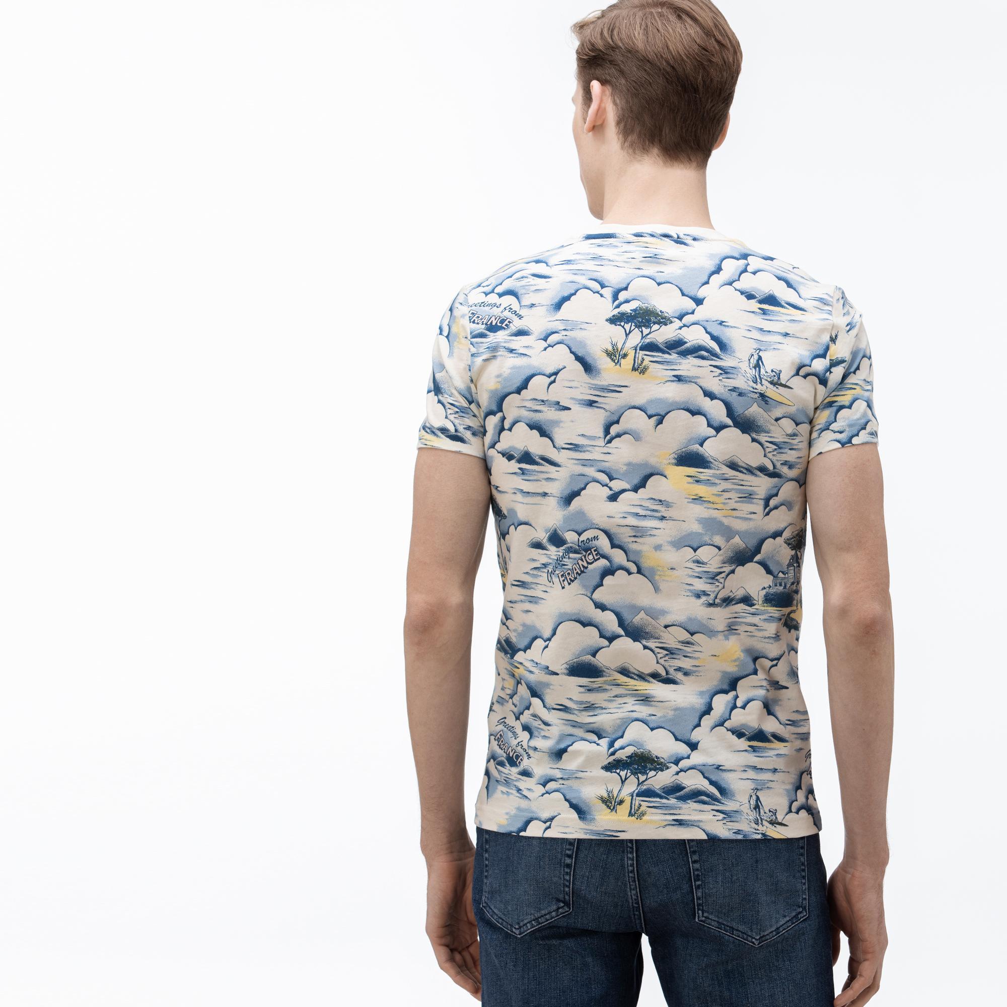 T-shirt męski Lacoste