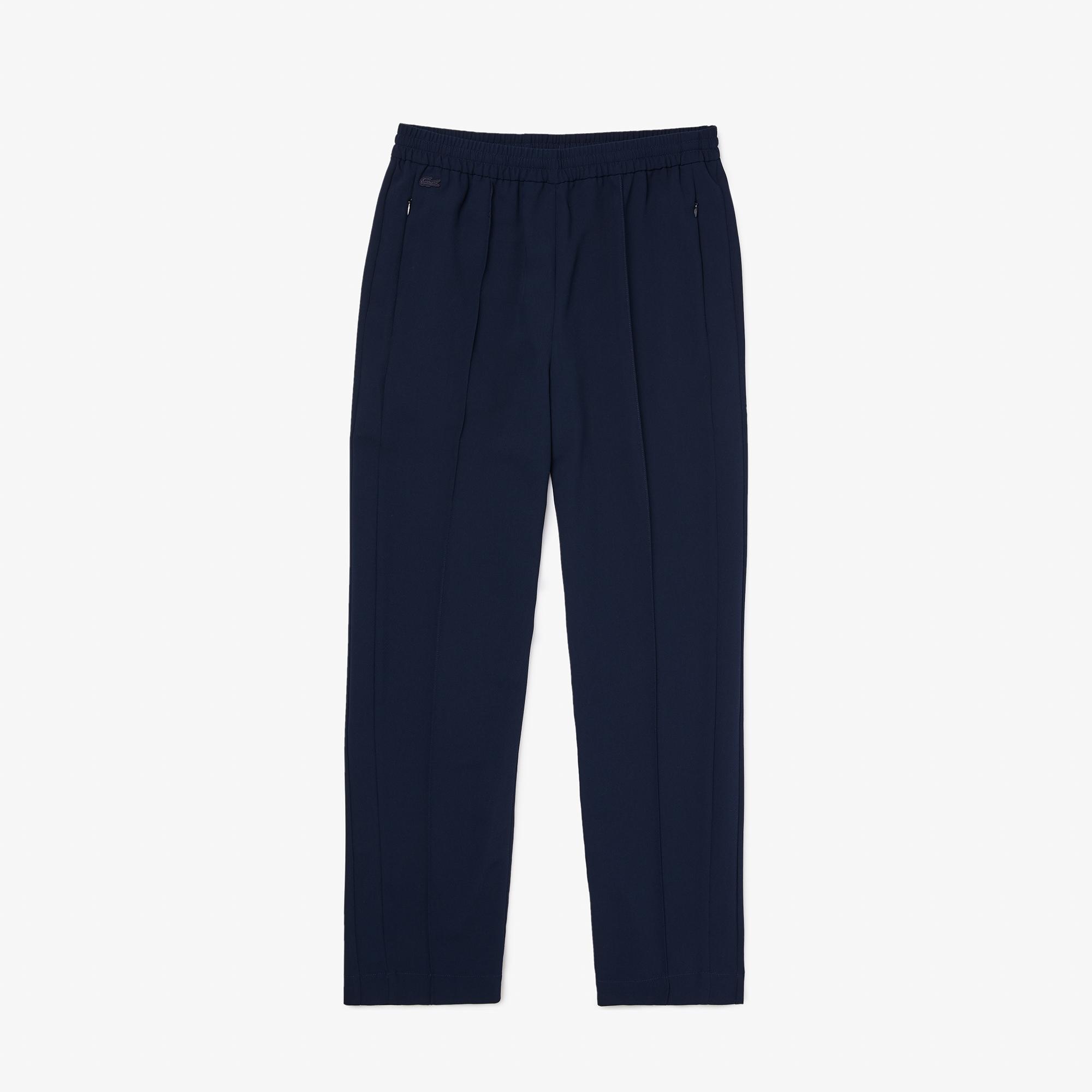 Lacoste Damskie Spodnie Dresowe Z Kontrastowym Paskiem