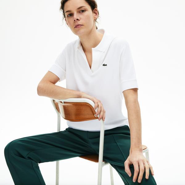 Lacoste Women's Flowy Piqué Polo