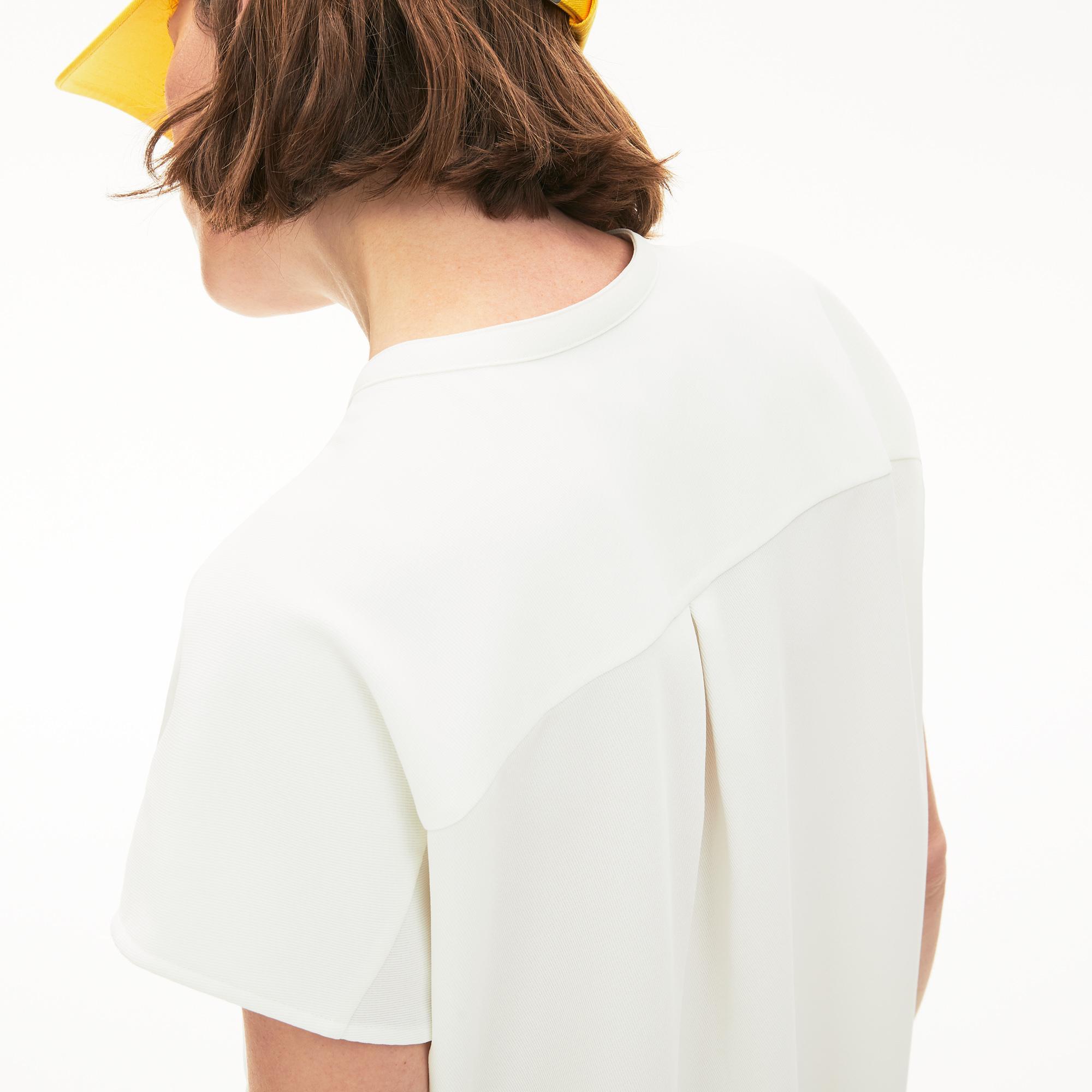 Lacoste Damska Elegancka Koszula Bez Rękawów