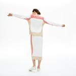 Lacoste Damski Sweter Z Okrągłym Dekoltem W Bloki Kolorystyczne