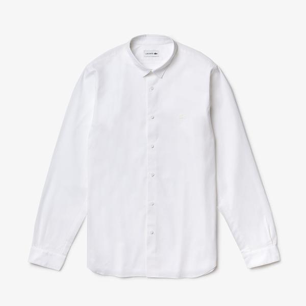 Lacoste Męska Koszula Z Elastycznej, Oddychającej Bawełny Motion