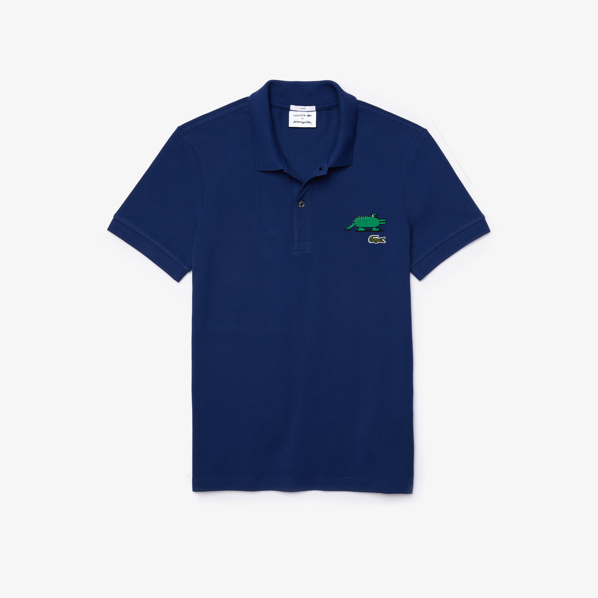 Lacoste Koszulka Polo x Jeremyville Unisex Z Nadrukiem