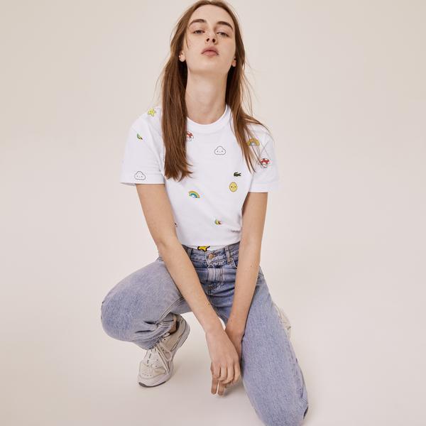 Lacoste Unisex x FriendsWithYou Print Cotton T-shirt