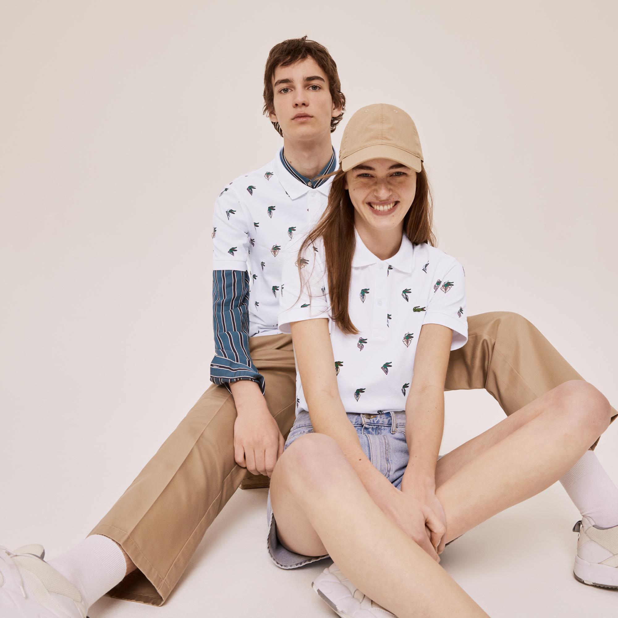 Lacoste koszulka Polo x Jean-Michel Tixier Unisex